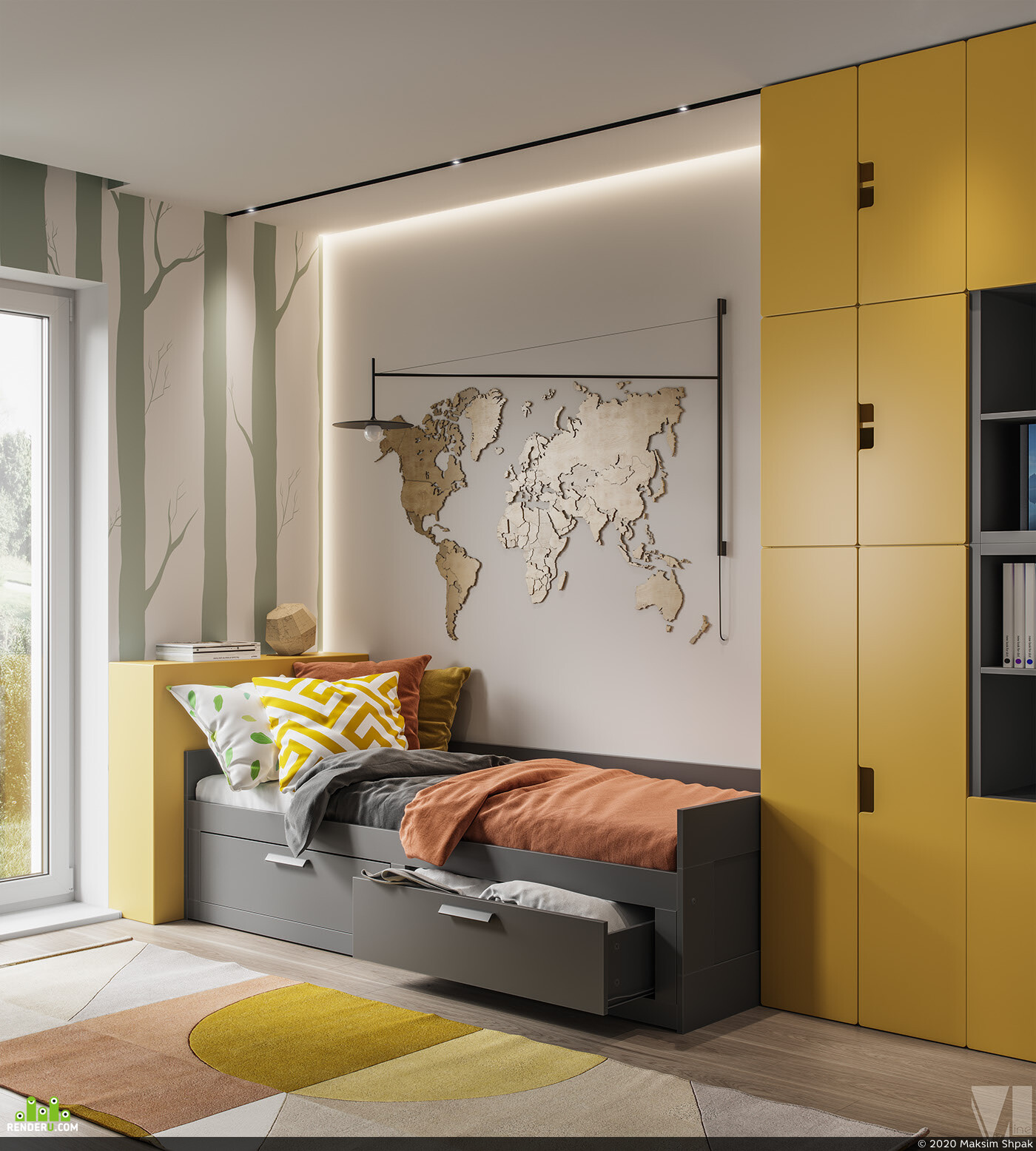 vizlinestudio, interior, interior design, interior interior design design 3D 3D Studio Max 3D архитектура интерьер дизайн интерьера интерьер, visualization