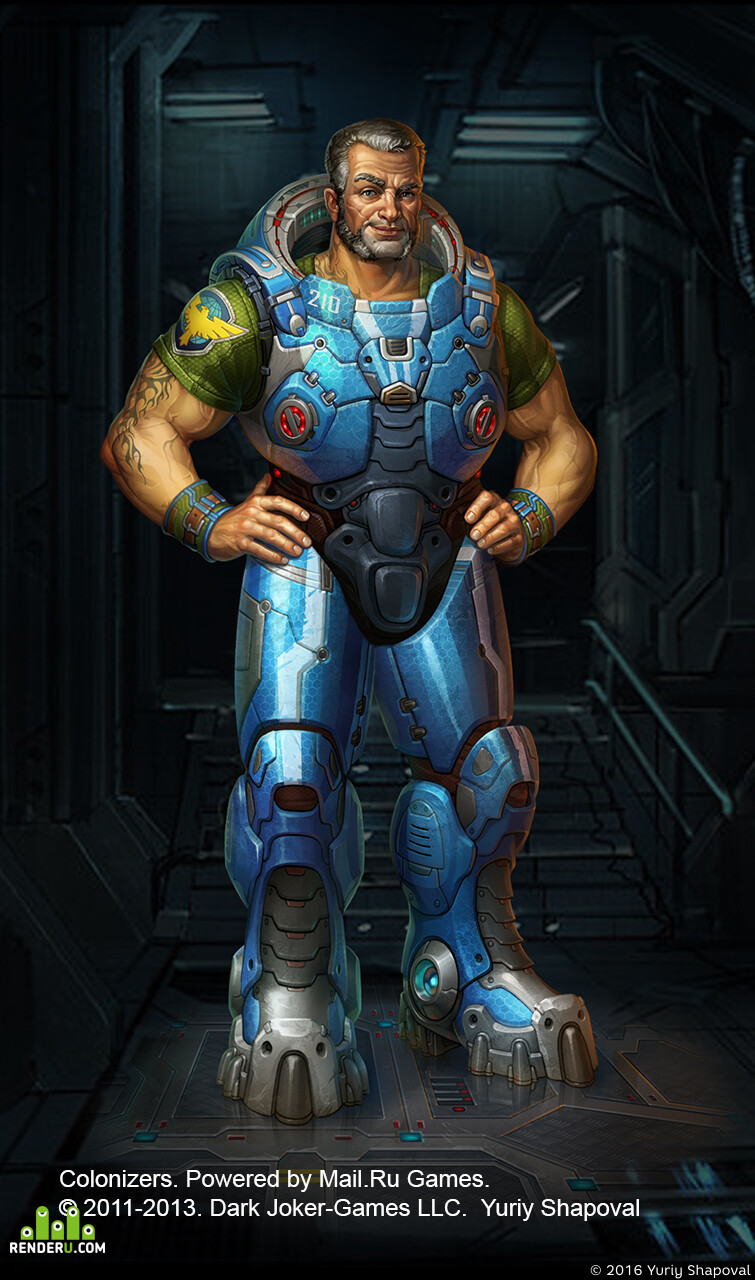 Digital 2D, Concept Art, colonizers, soldier, man, woman, zerg, StarCraft, Blizzard