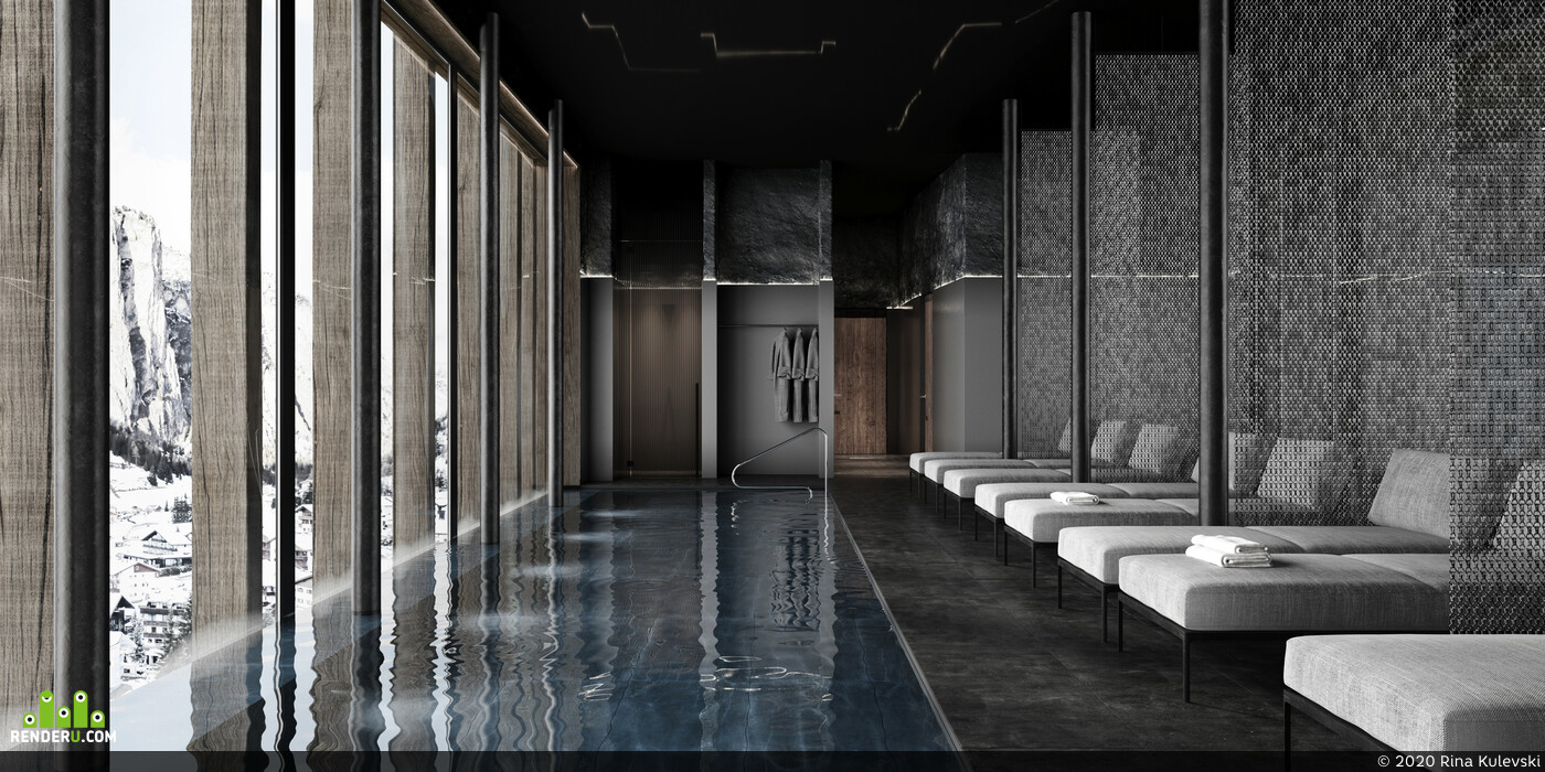hotel, interior, commercial project