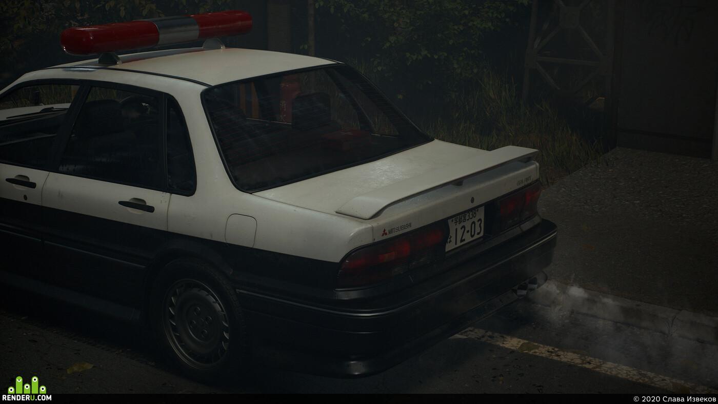 car, Vehicles, police, Japan, Japanese, Environments