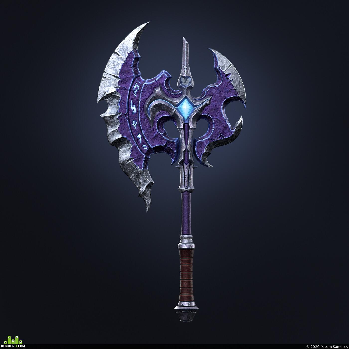 viking axe, Fantasy Axe, axe