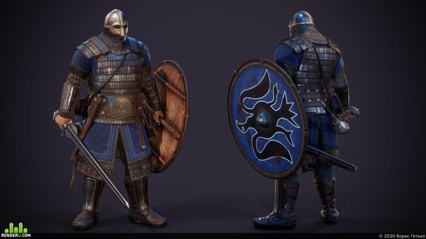 Vikings, Viking Hand Axe