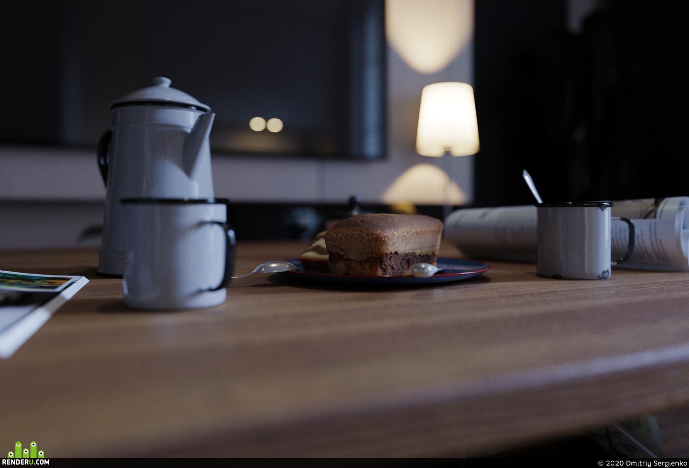 гранат, кухня, Диван для гостиной мебель интерьер дизайн фурнитура гостиная комната отдыха модель полигоны кожа текстура ткань минимализм мода спаль, visualization 3д визуализация интерьера Интерьерная визуализация визуализация интерьера гостиная 3d 3ds Max, кухня-гостиная, гостиная, дизайн интерьера гостиной, кровать, паркет, Работа со светом