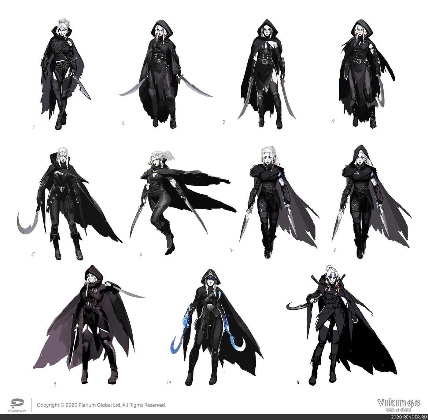 concept, игровой персонаж, Персонажи, Концепт-арт, концепт