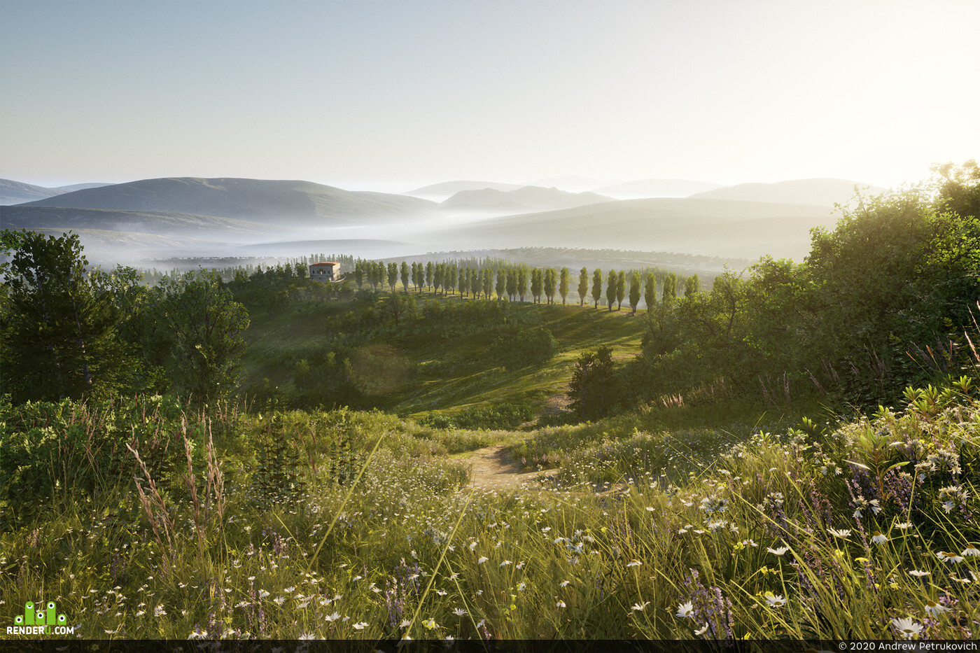 Unreal Engine, Real-time rendering, фотореализм, сканирование, мегасканы, quixel megascans