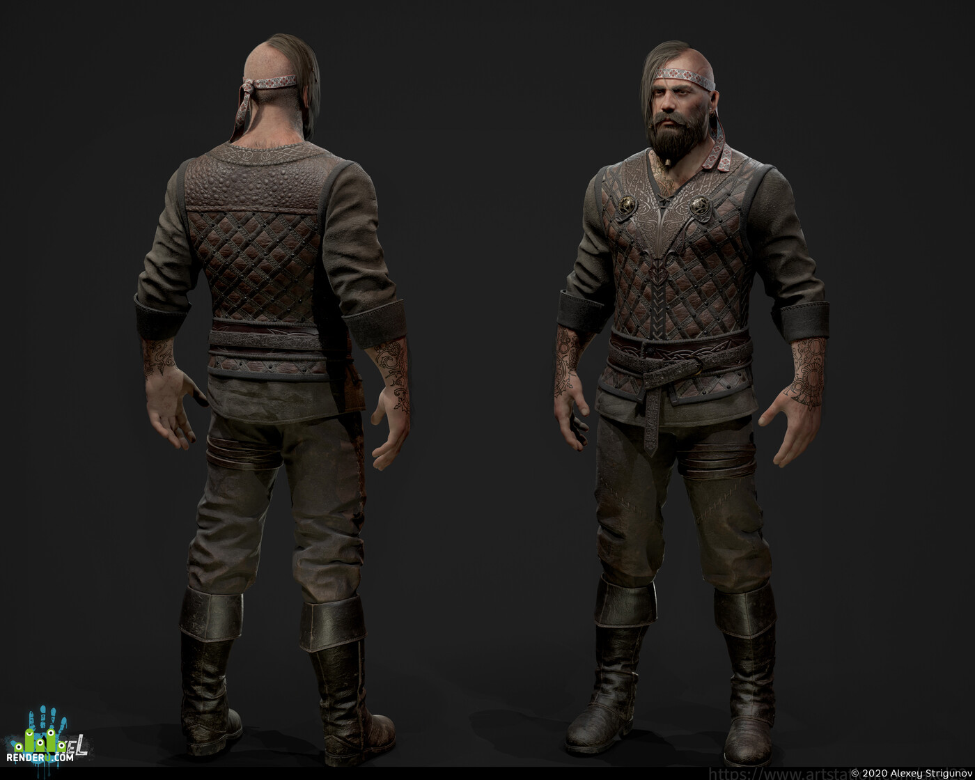Digital 3D, Real-time, 3D Printing, game art, character design, Character Modeling, Character, Concepting, Fantasy