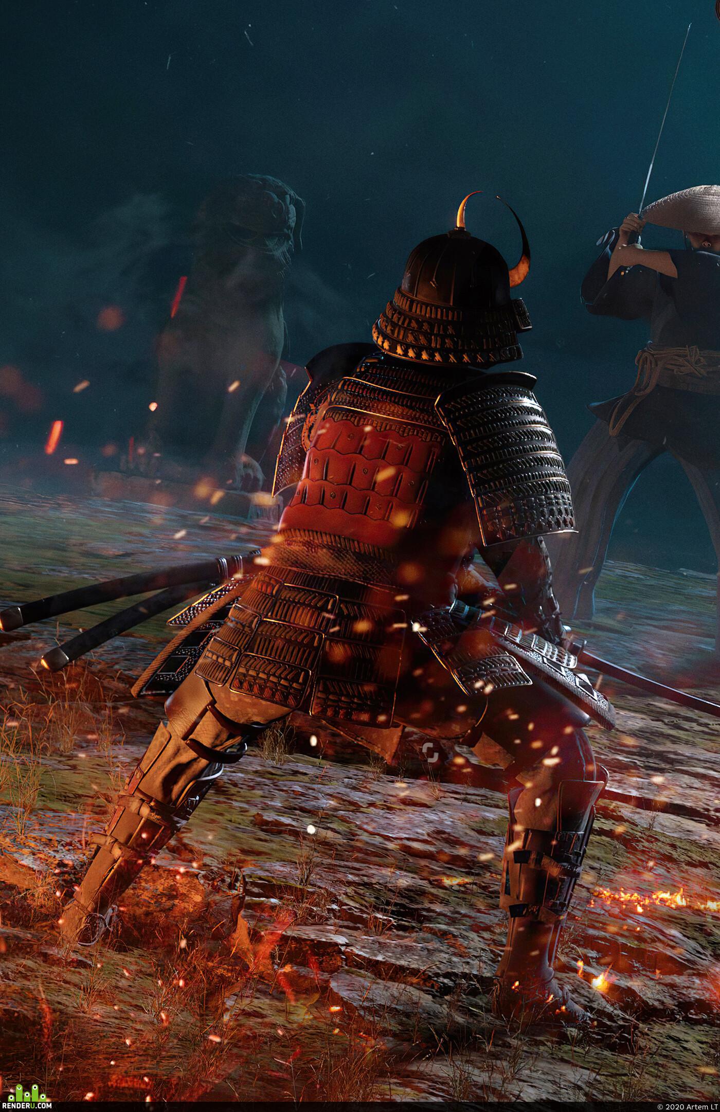 samurai, medieval