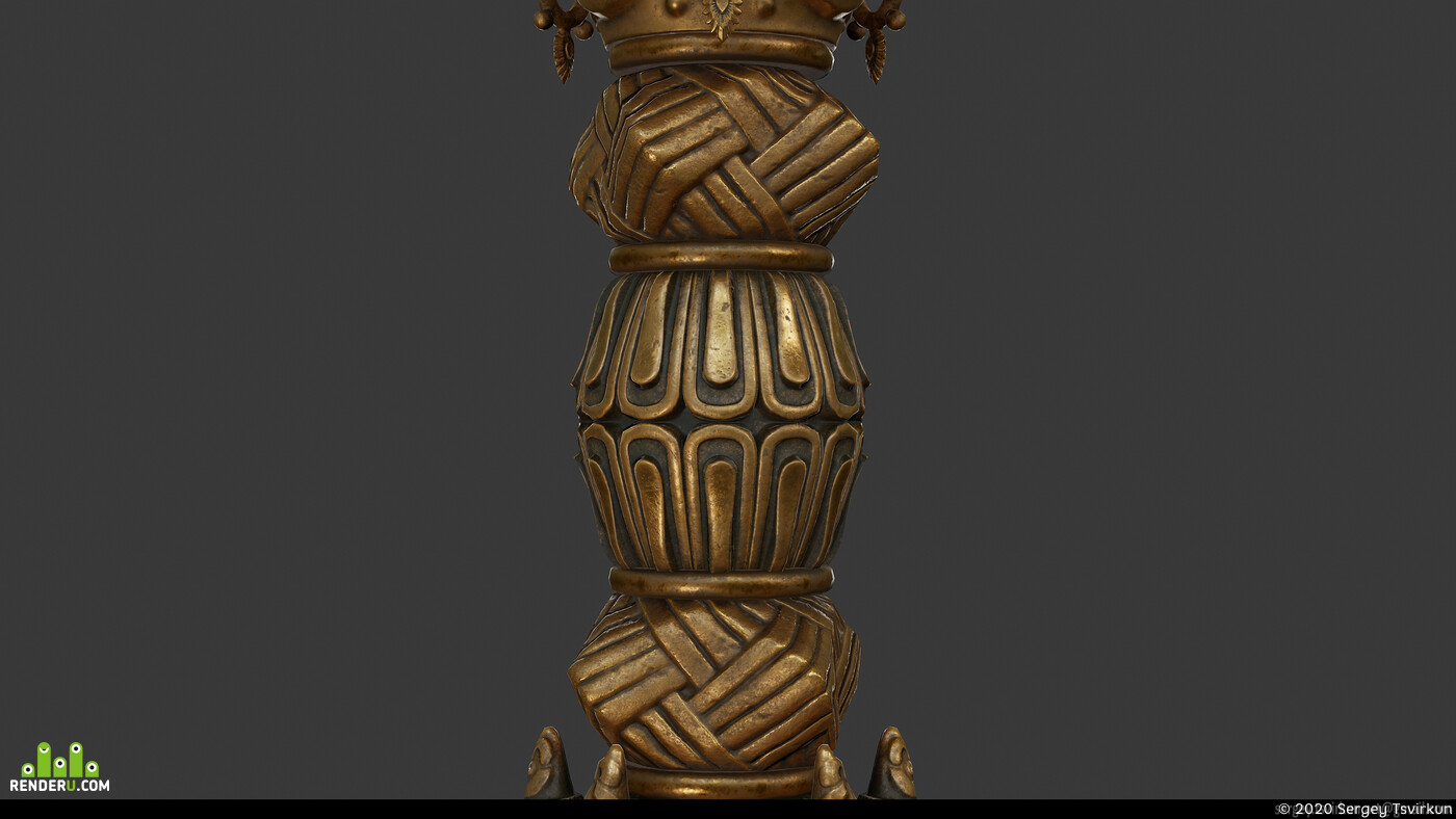 Weapons, Dagger, artifact, sculpting, metal, Rithual, knife, lowpoly, 3dmodel, Real-time