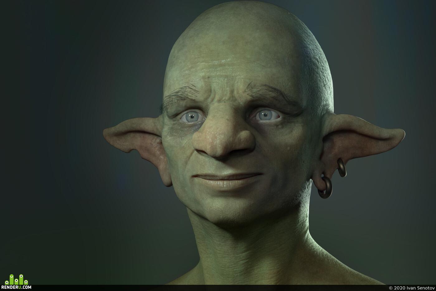 3d art, Characters, characterdesign