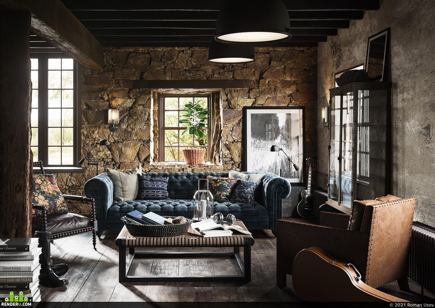 ARCHITECTURAL VISUALIZATION REAL, interior design