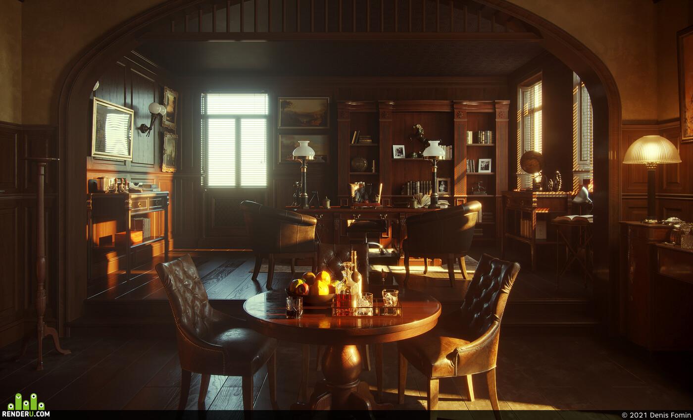 Cabinet, Cabinet interior