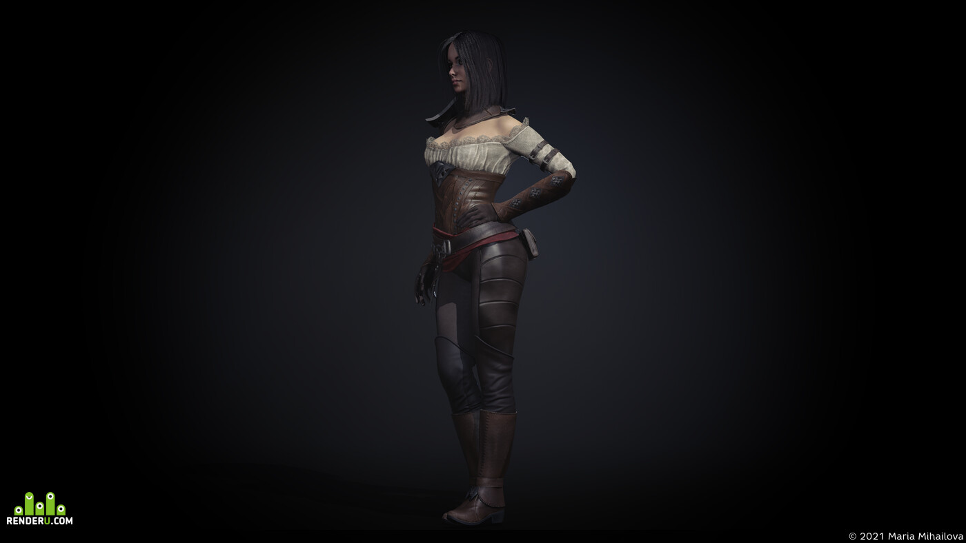 девочка, игровая модель