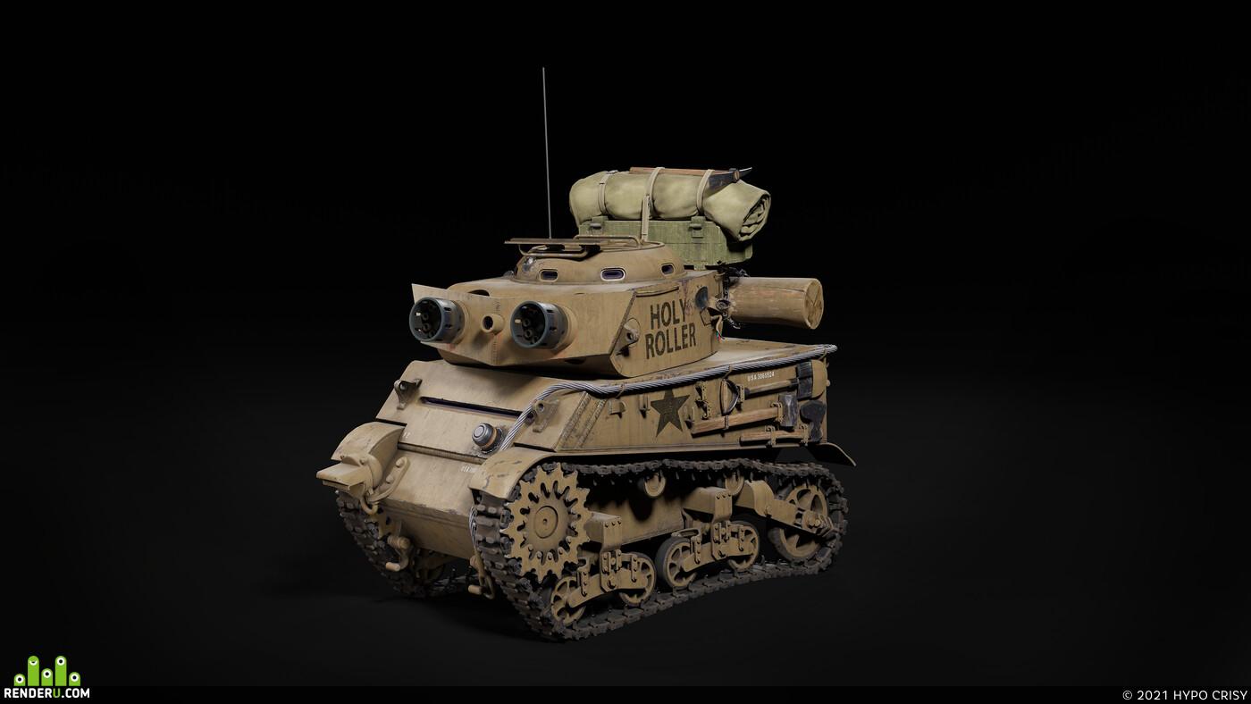 machine gun, Transport & Vehicles, Tank