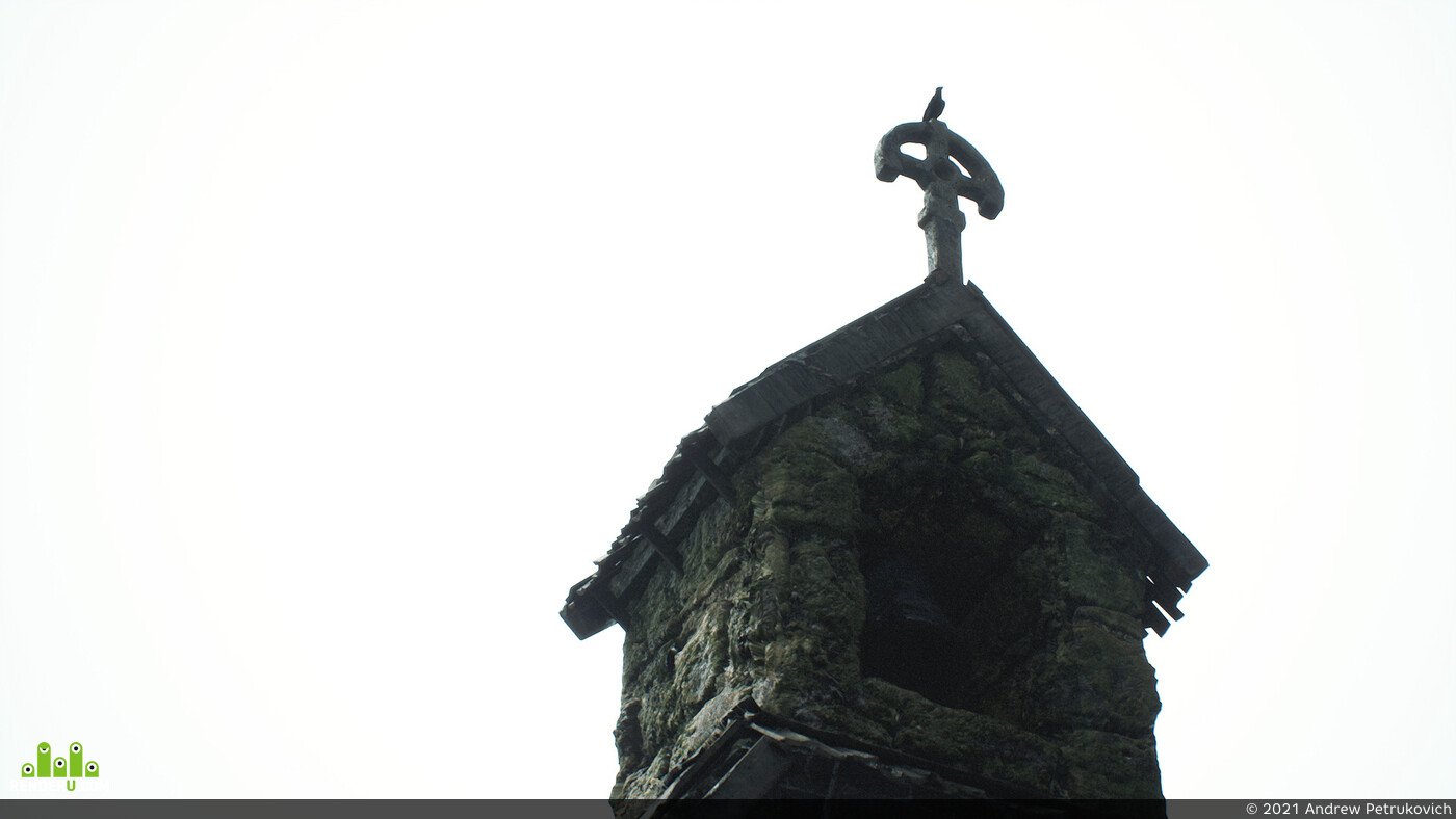 diablo, cinematics, church, raven, Fog, Unreal Engine 4