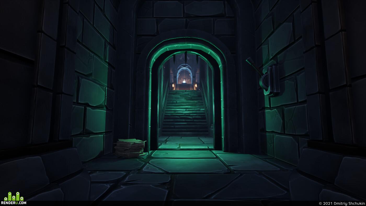Fantasy, medieval, modular, environment