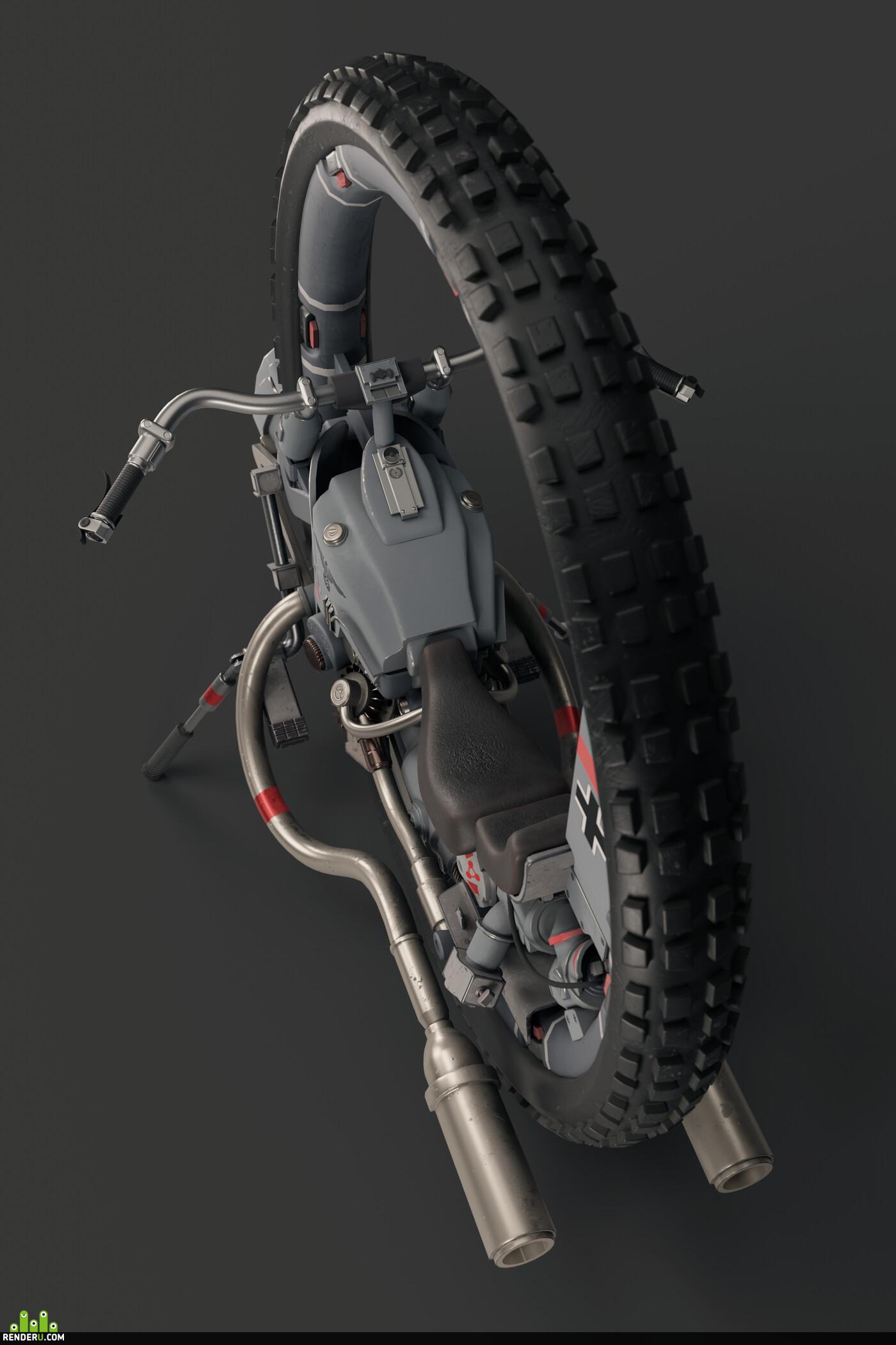 hardsurfacesmodeling, 3d model, Digital 3D, Transport & Vehicles, Combat vehicles