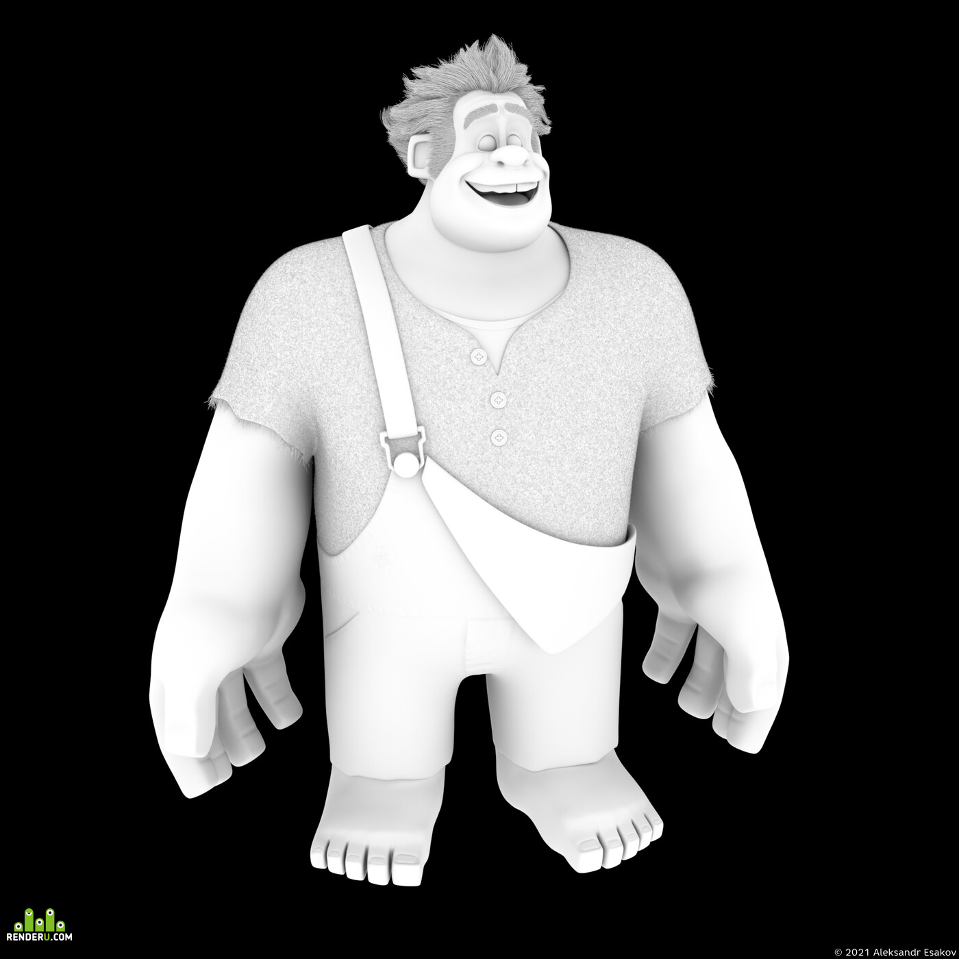 Wreck It Ralph, cartoons, Character