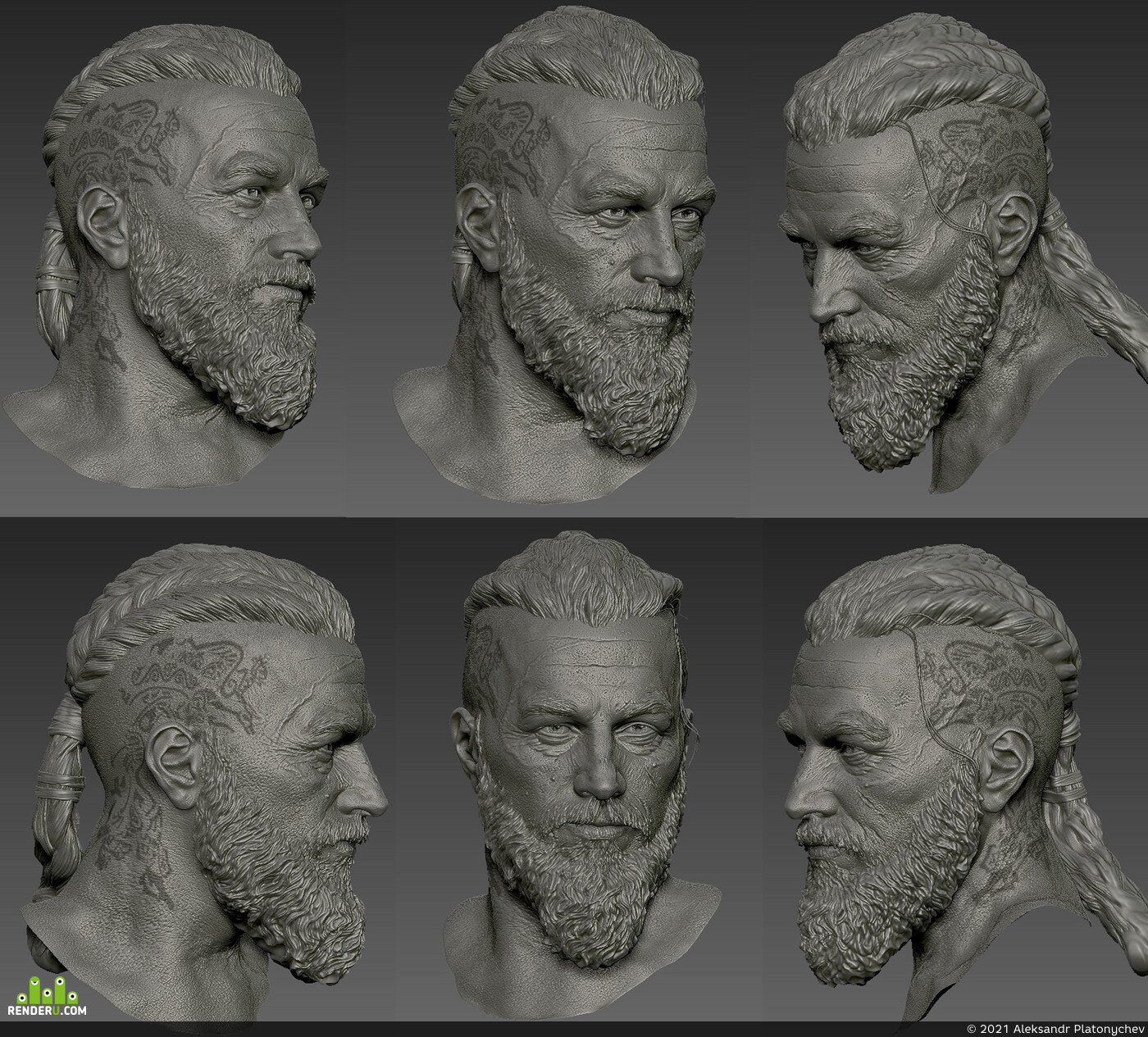digital sculpture, zbrushsculpt, 3d sculpt, sculpting