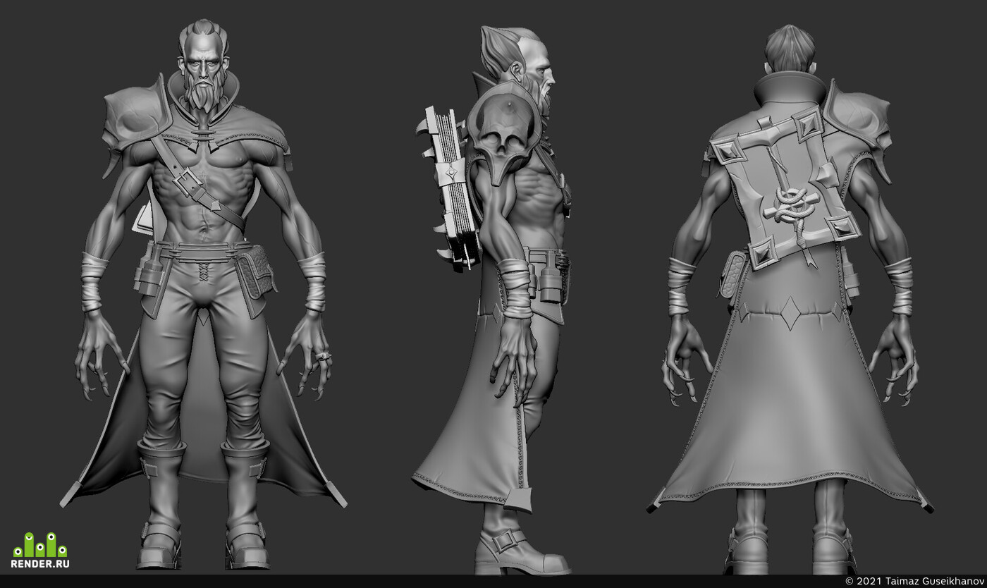 3d, 3dartist, Zbrush, concept-art, low poly, sculpting, Fantasy