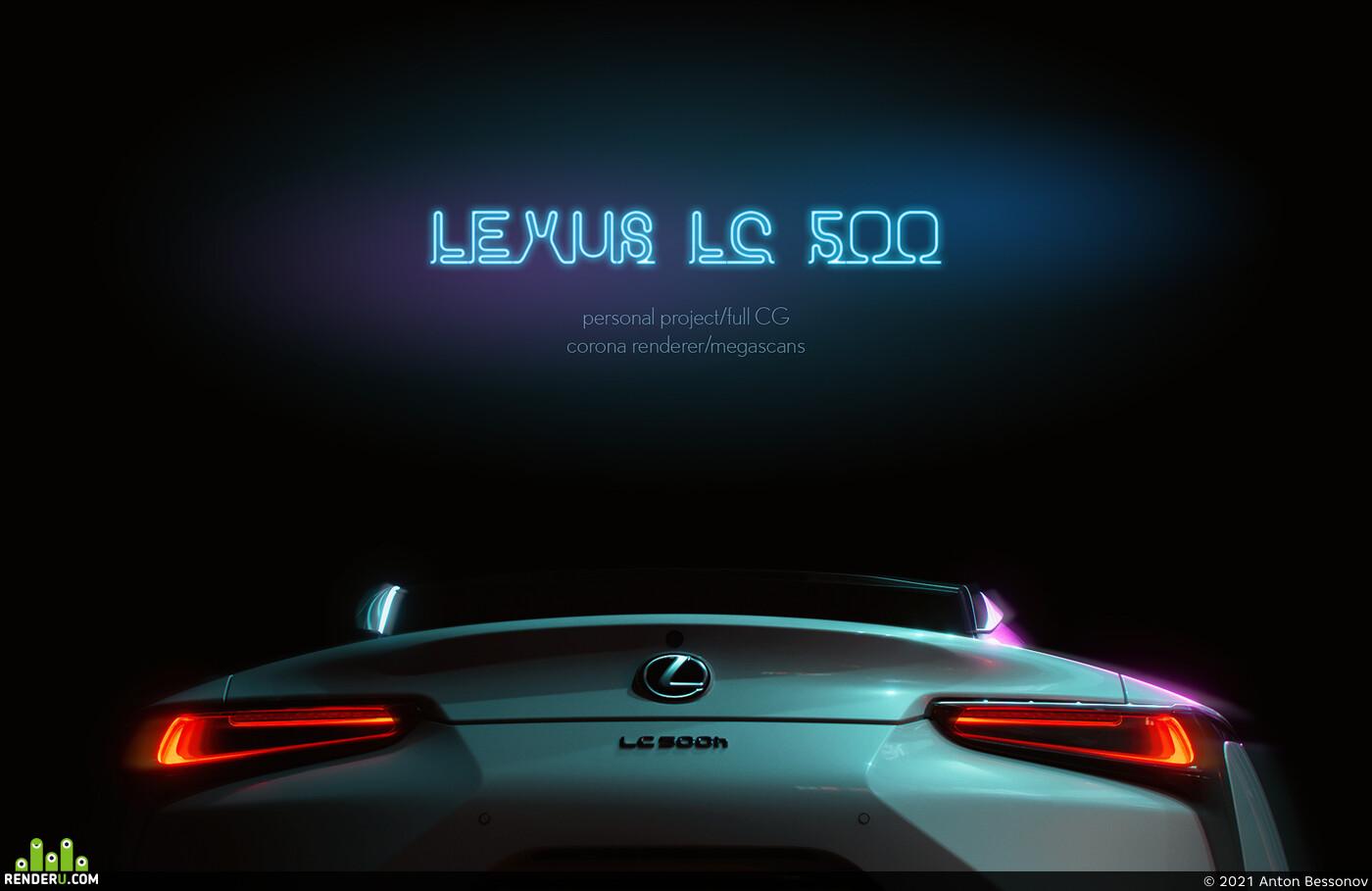 lexus, LC500
