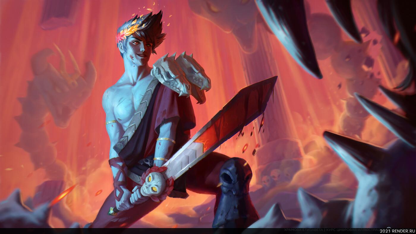 дизайн персонажа, персонаж, иллюсрация, 2d, 2dart, digital 2D, concept