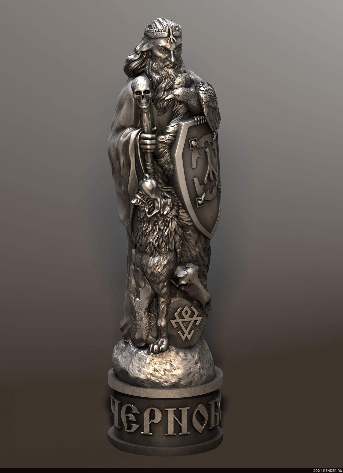 скульптура, модели для чпу, stl