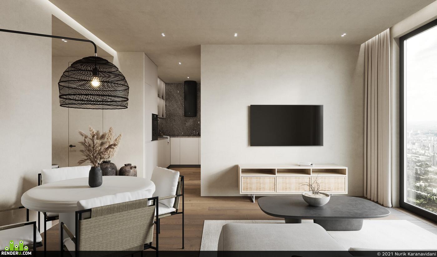 3ds max, Corona Renderer, interior, interior design, Компьютерная графика/CG, fullcgi, rendering, visualization