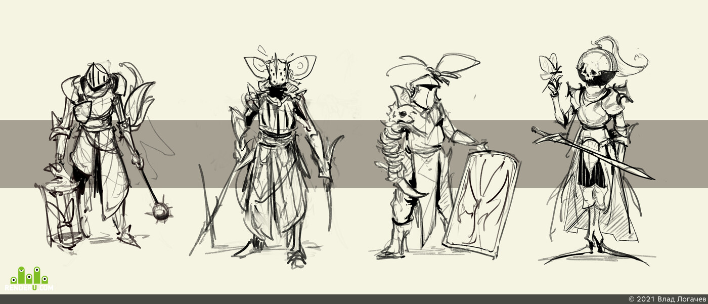 Knights, Dark fantasy, Dark Souls