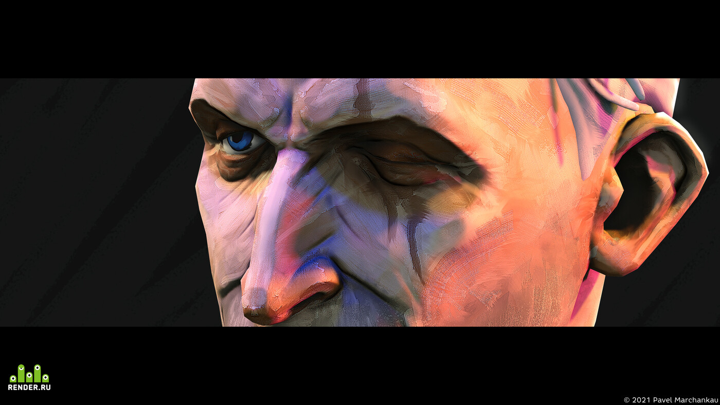 digital 2D, Digital 3D, Real-time, Portraits, character design, Character Modeling, 3d, marmoset, toolbag