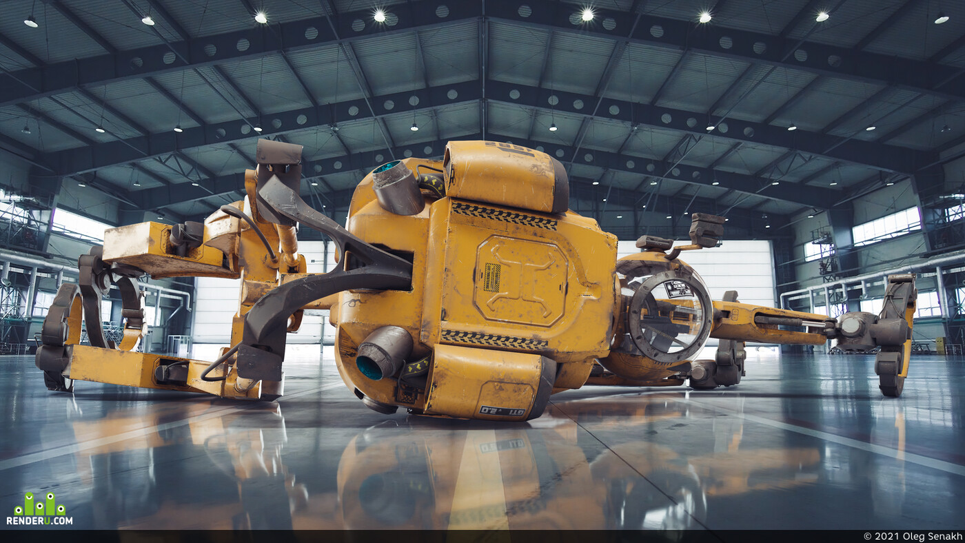 Mecha, робот, футуризм, игровая модель, mech