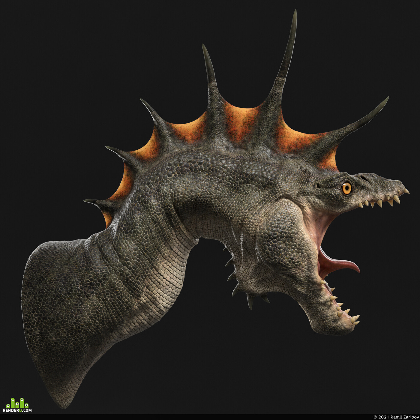 Digital 3D, Animation, Creatures, character design, Character Modeling, dragon, monster, character