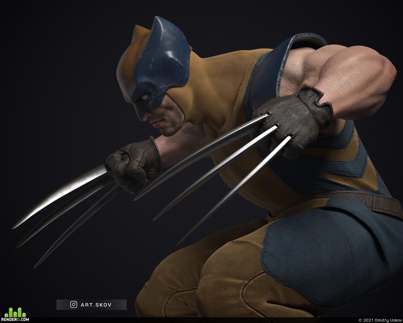 Logan, wolverines, Marvel