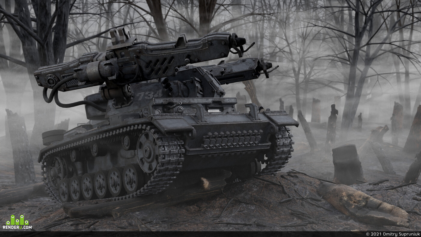 Tanks, HardSurface