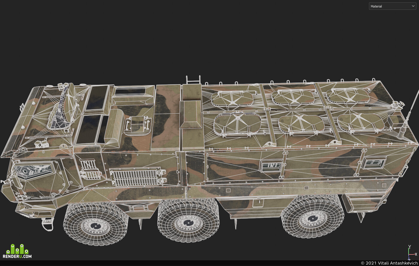 Game-ready, low-poly, Digital 3D, Transport & Vehicles, Game props, game model