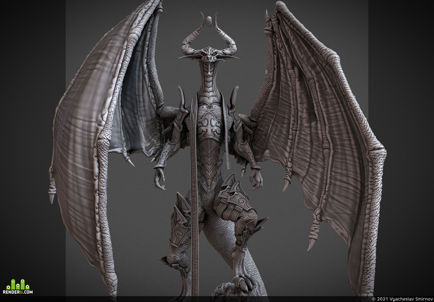 modelfor3dprint, miniatures, mtg, crow_figurines, Bolas, Nicol, NicolBolas, dragon, dragons