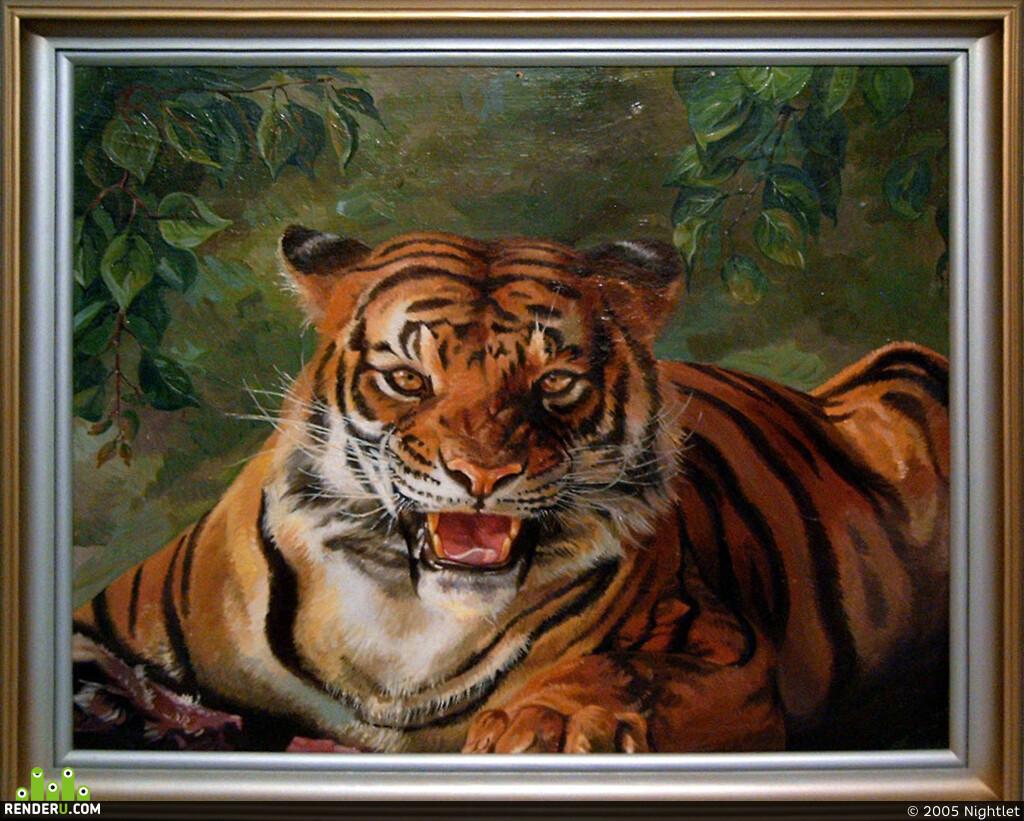 Открытки о тиграх