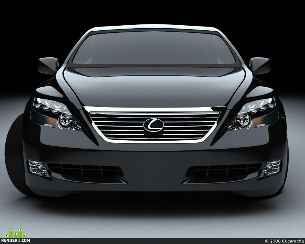 preview Lexus LS600h