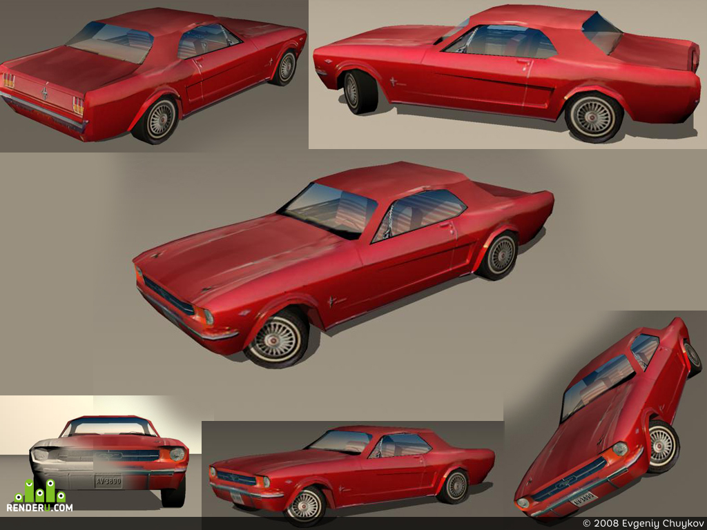 preview Ford mustang 1964