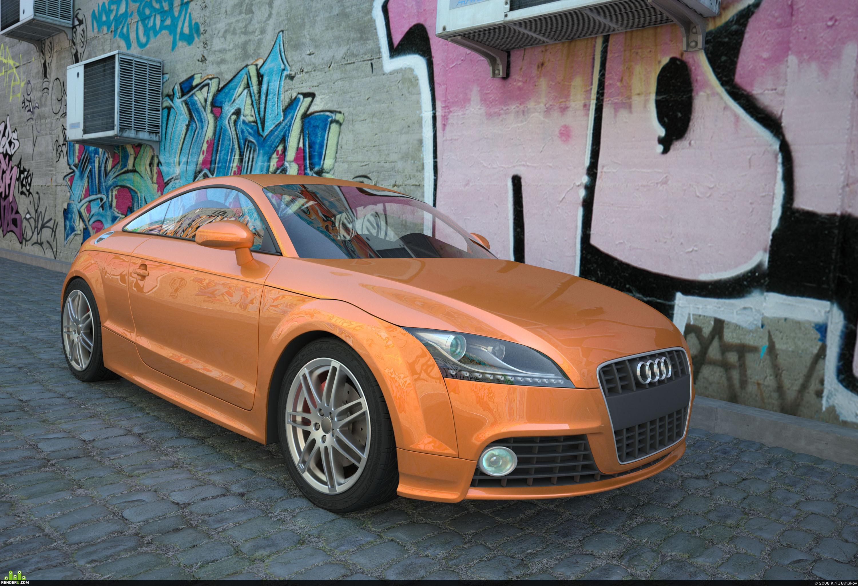 preview AUDI TTS 2008