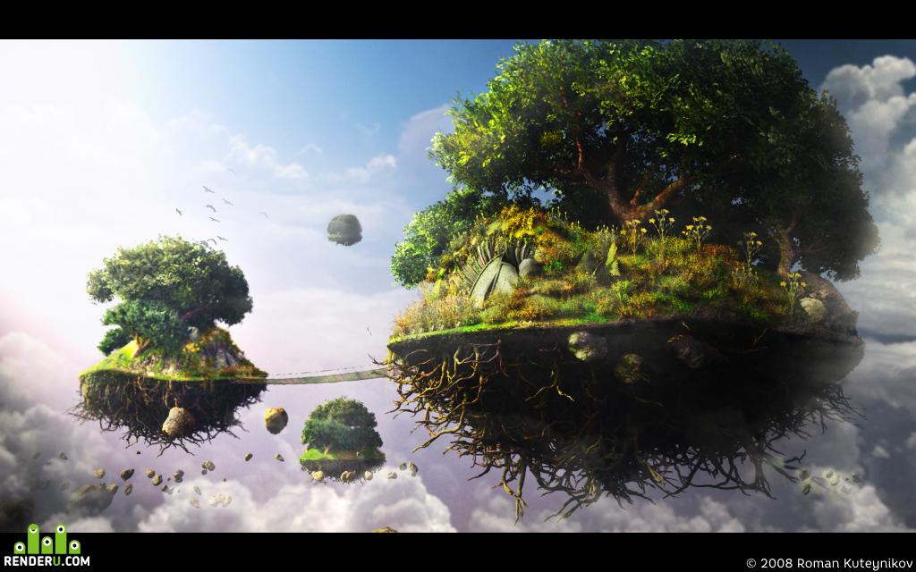 preview Летающие острова