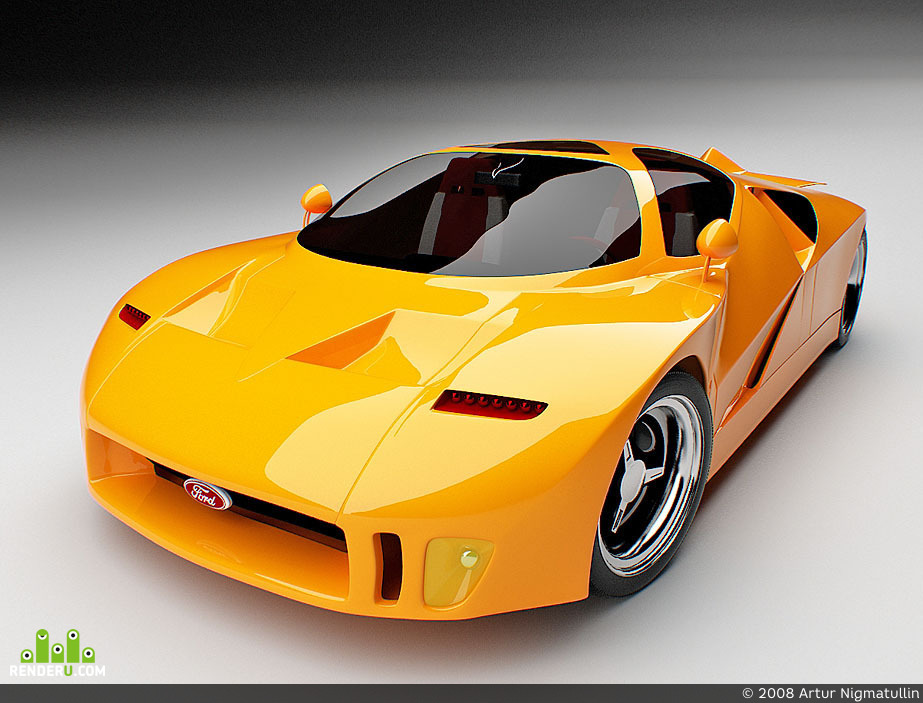 preview FORD GT 90