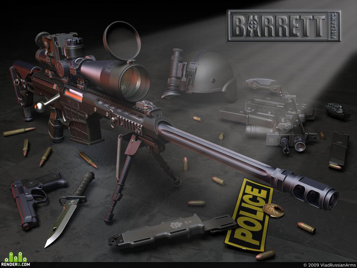 preview Barrett M98