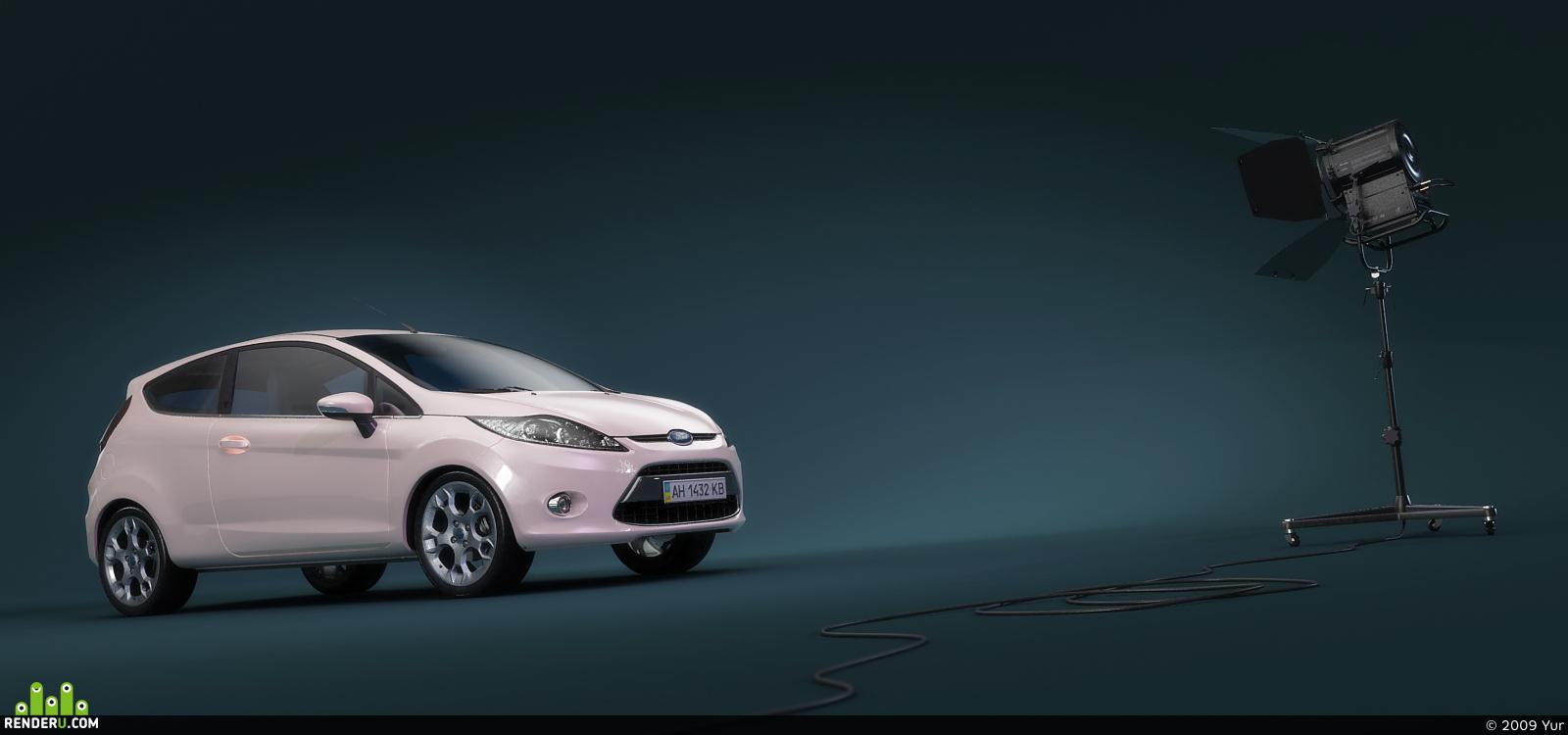 preview Ford Fiesta студия 3