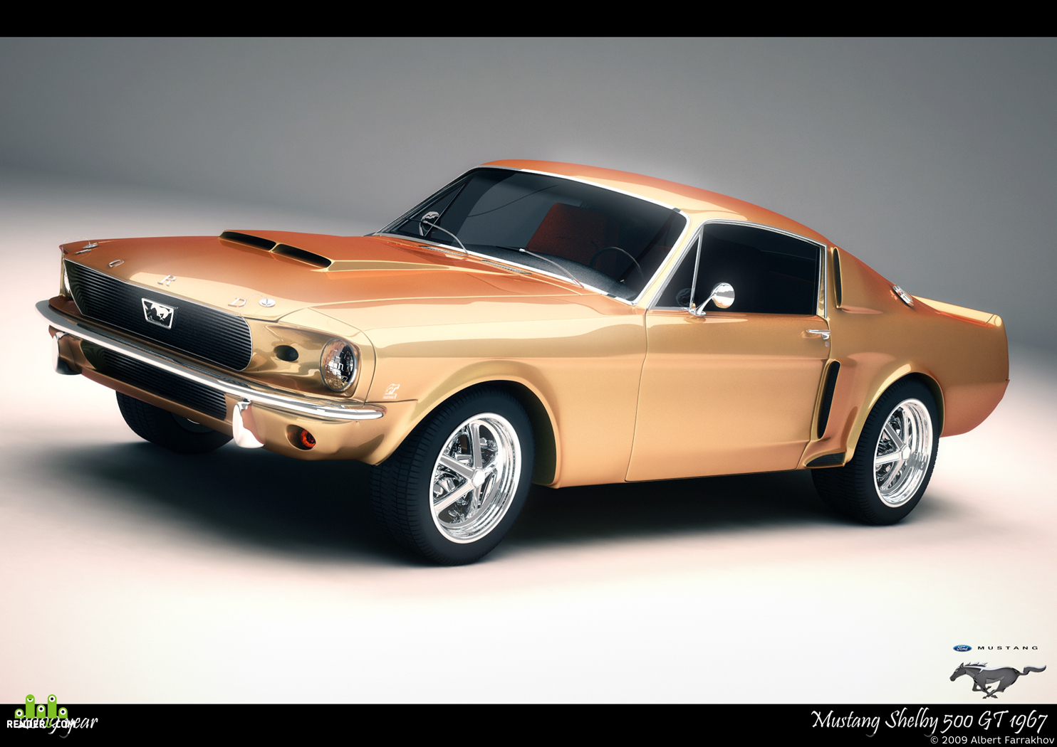 preview Mustang Shelby 500GT