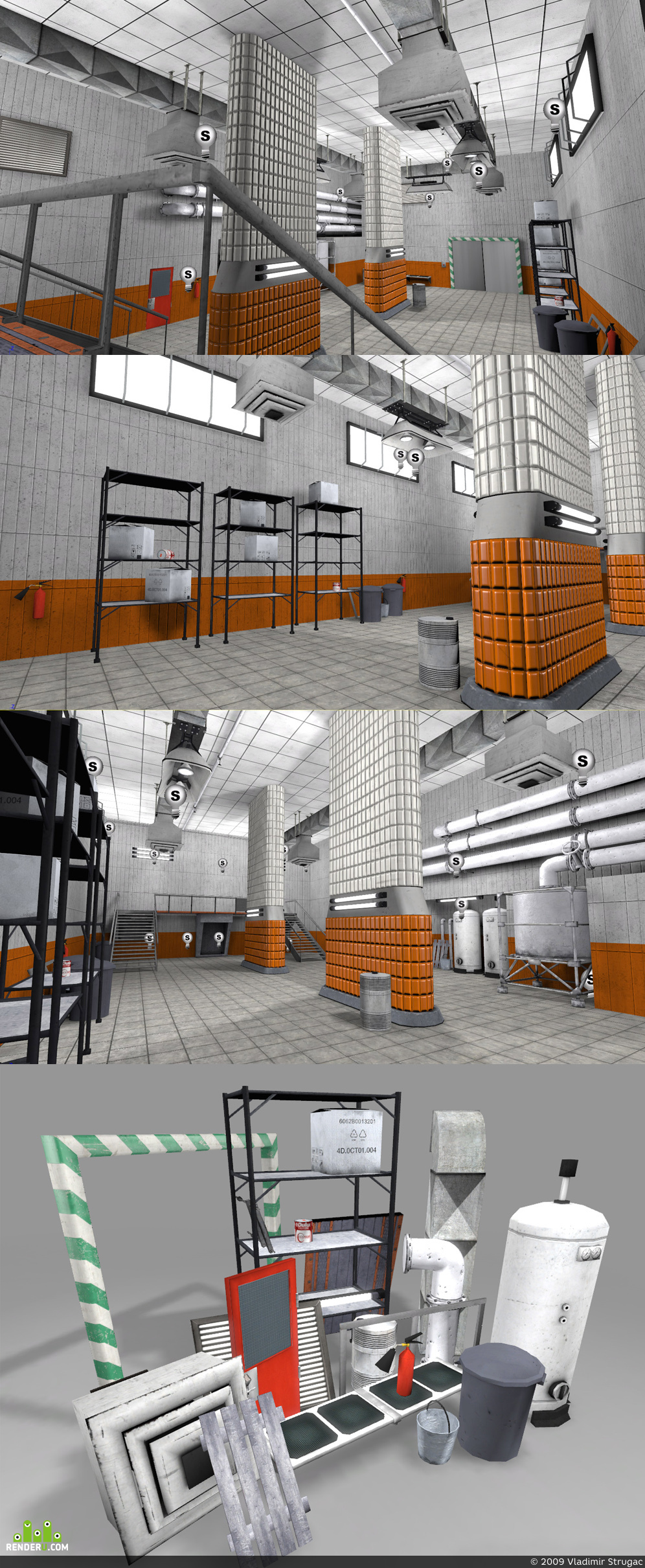 preview Industrial room (Environment)
