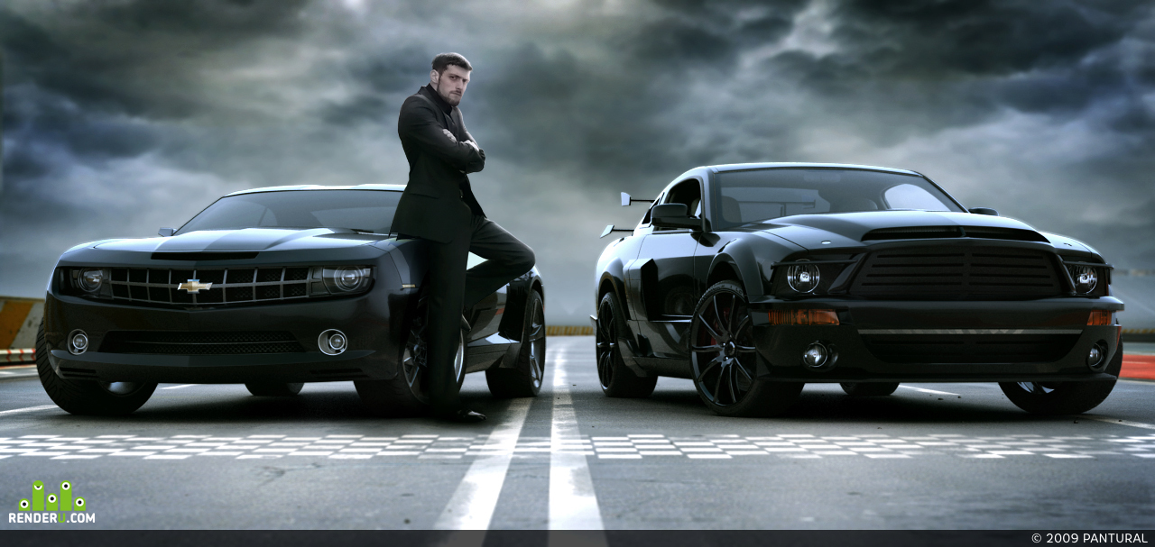 preview PAN Ford Shelby KITT