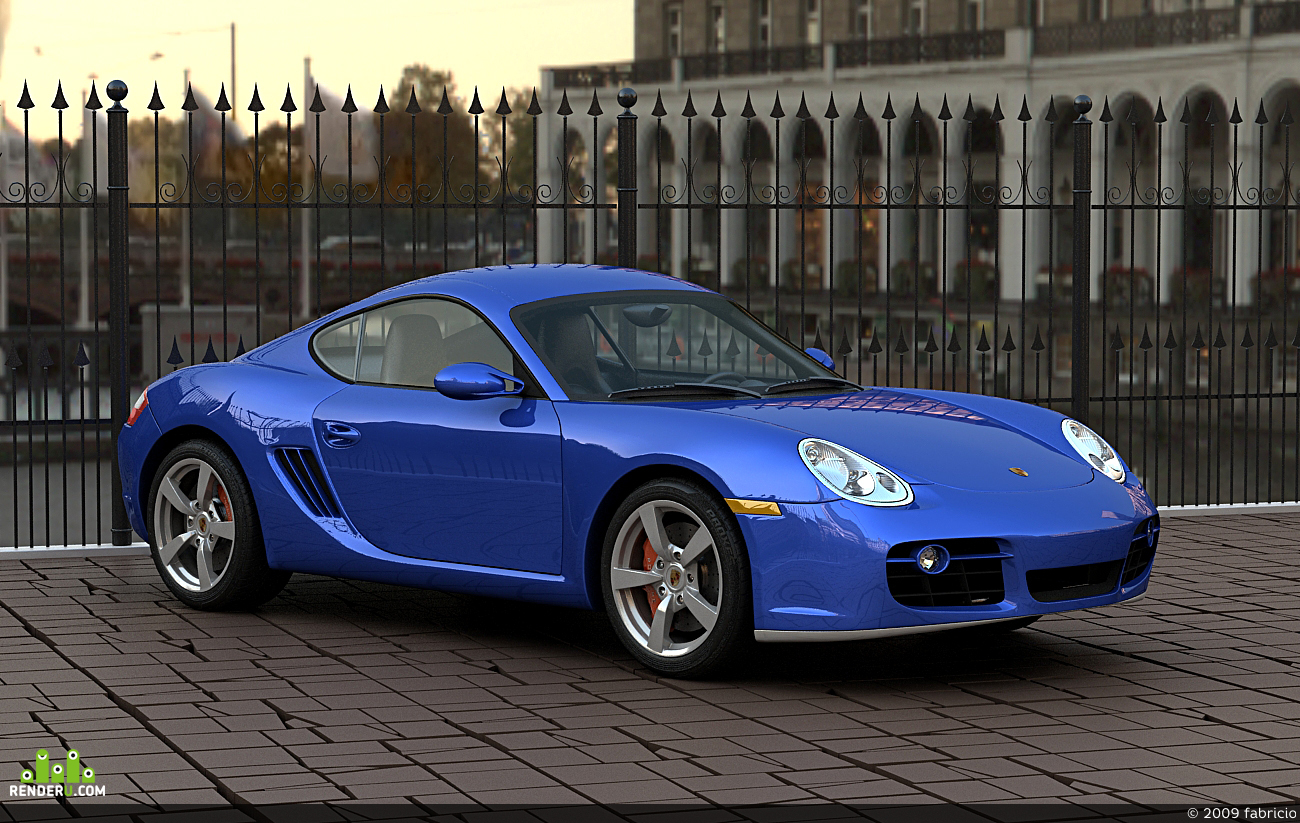 preview Porsche Cayman S