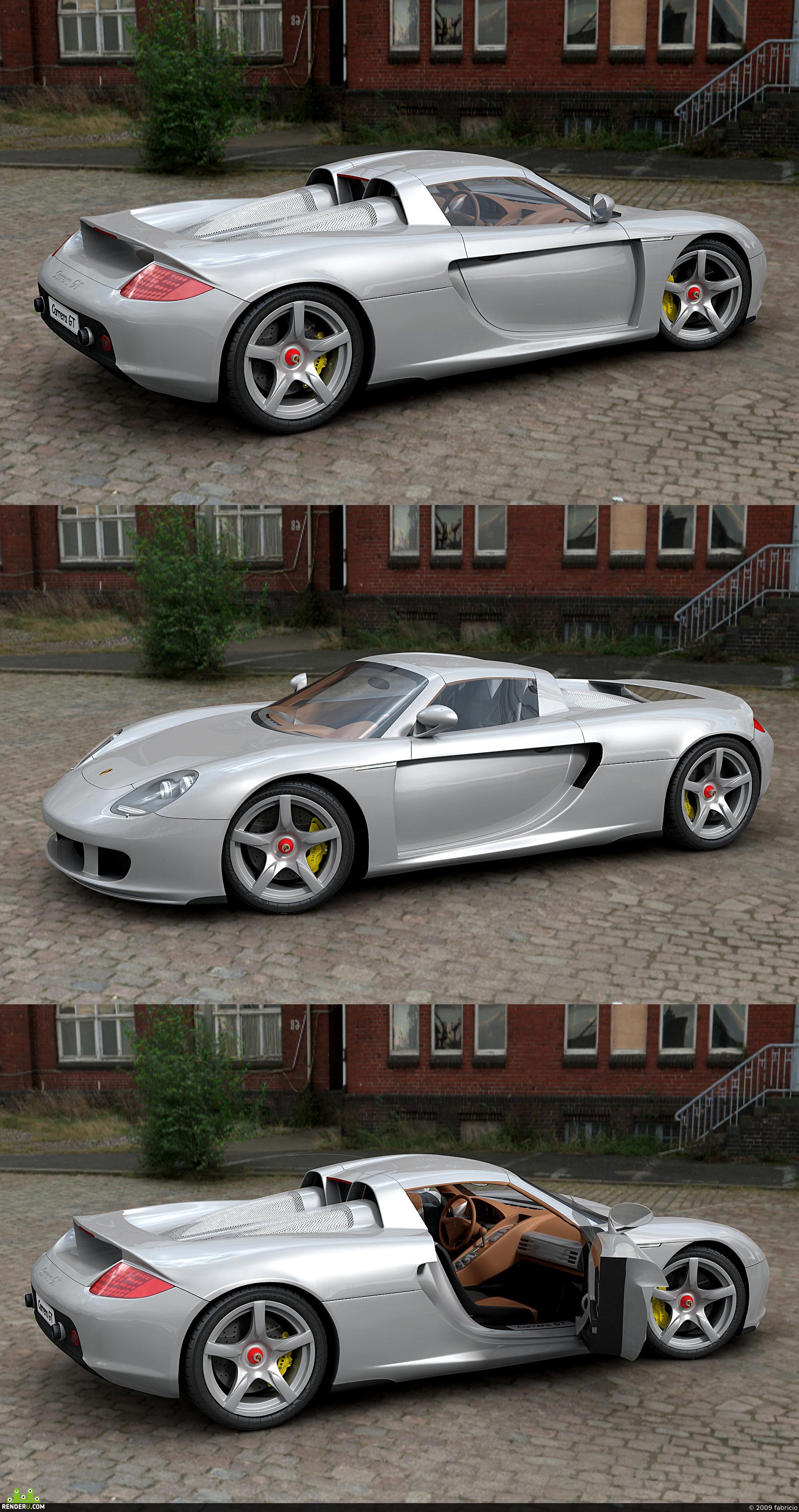 preview Porsche Carrera GT