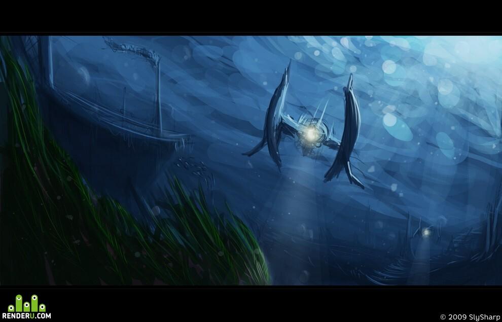 preview Под водой