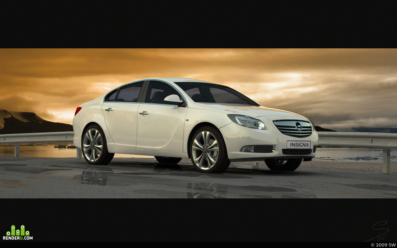 preview Opel insignia